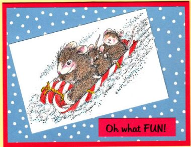 oh what fun by house mouse