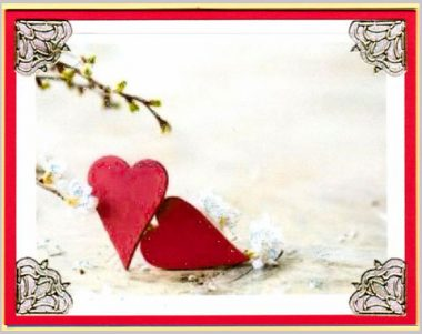 heart blossoms