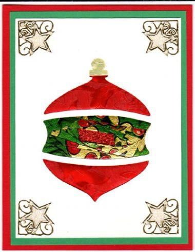 IF christmas ornament