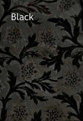 black floral foil