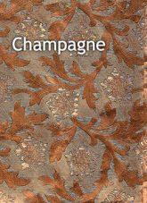 champagne color floral foil