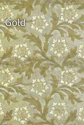 gold floral foiil