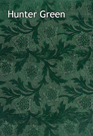 hunter green foil