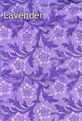 lavender floral foil