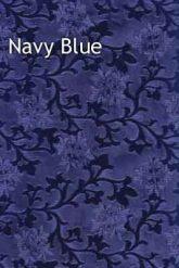 navy blue foil