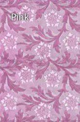 pink floral foil