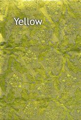 yellow floral foil