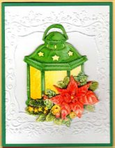 merry and bright lantern