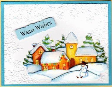 warm wishes winter village