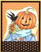 jack o'lantern scarecrow