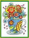 blooming teacup