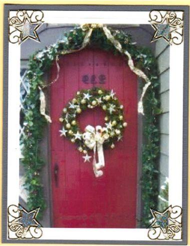 christmas doorway