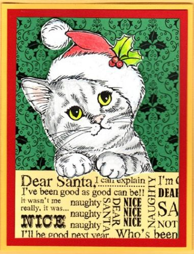 dear santa kitty