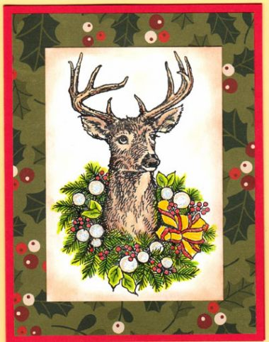 decorated deer