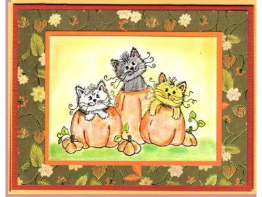 happy fall kittens