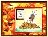 leaf pile jumping