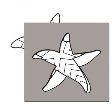 pattern for sea star