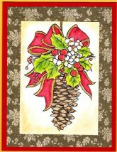 pinecone decoration