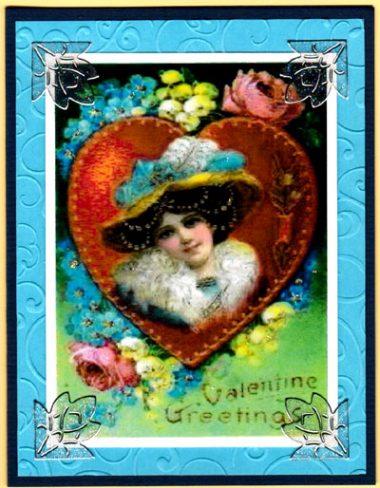 valentine lady