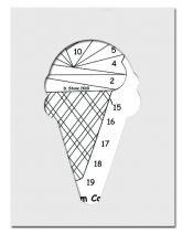pattern for ice cream cone