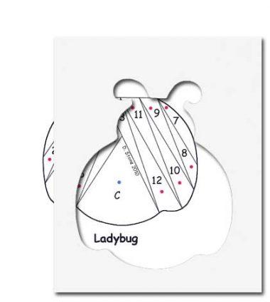 pattern for ladybug