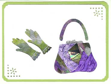 purse and gloves