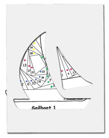 pattern for sail boat