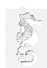 pattern for sea horse