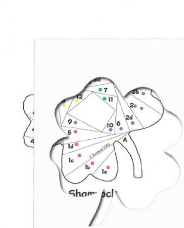pattern for shamrock