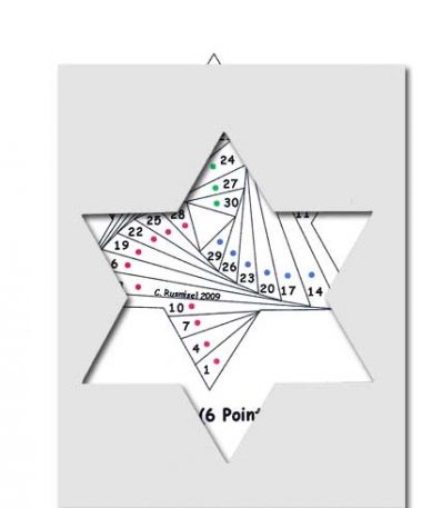 pattern for star of david