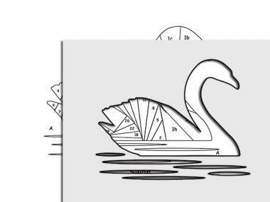 pattern for swan
