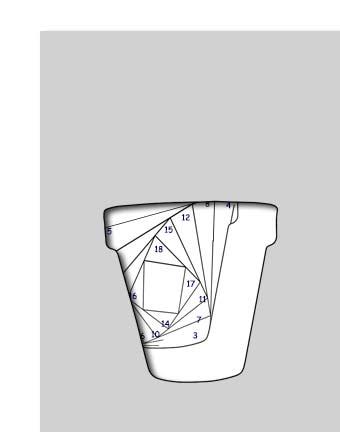 pattern for terra cotta pot