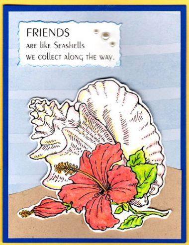 friends like sea shells