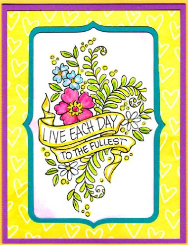 live each day