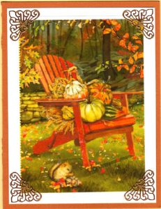 October Chair