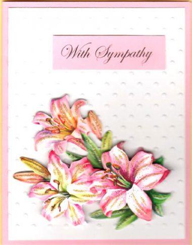 sympathy lily