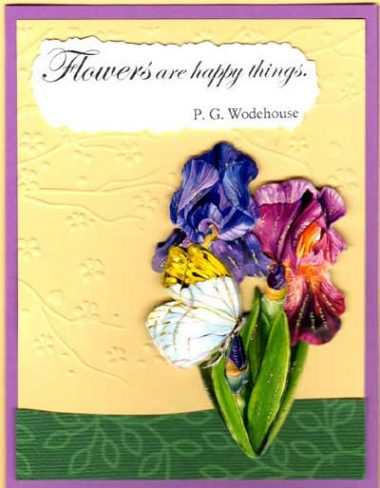 Flower Quote Spring Bulbs